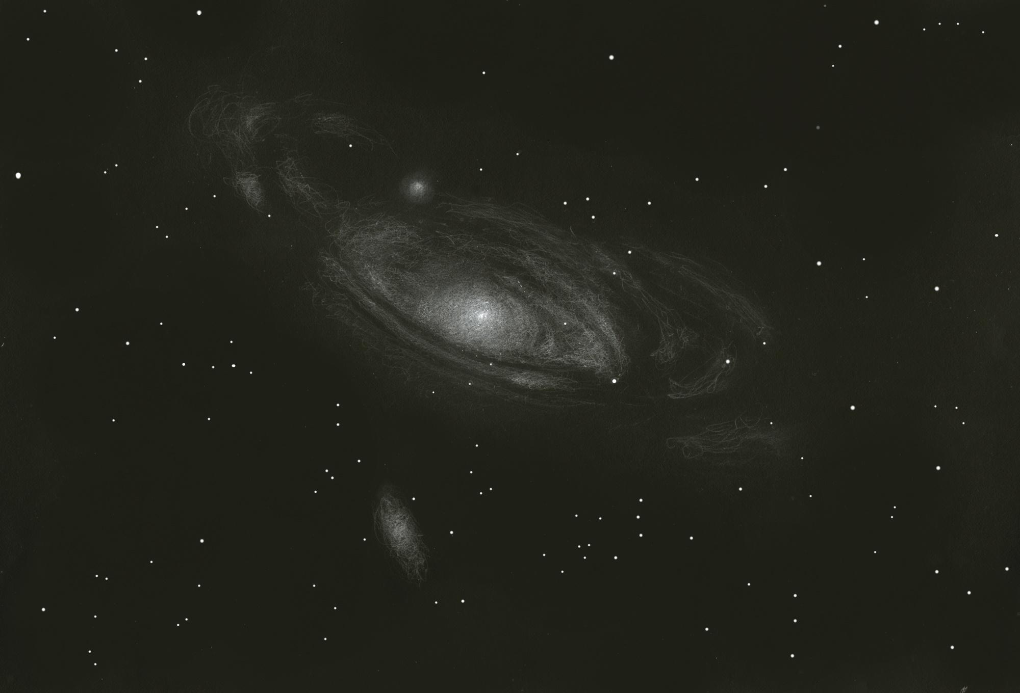 Andromeda Galaxy (Messier 31, 32, 110) - Deep Sky Watch