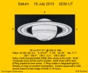 Saturn in Good Seeing