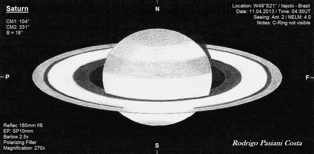 Saturn - April 11, 2013