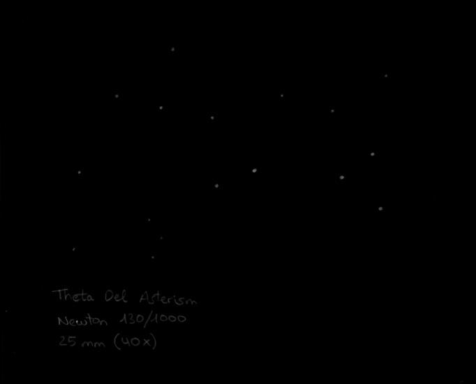 Theta Del asterism