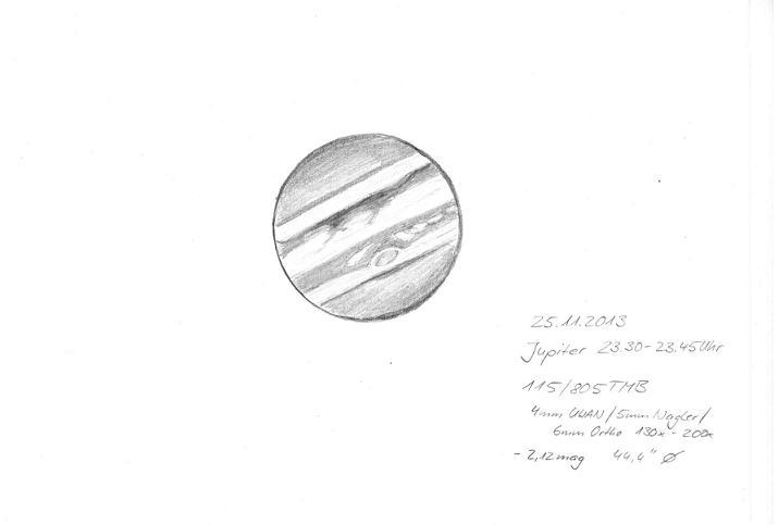 Jupiter - November 25, 2013