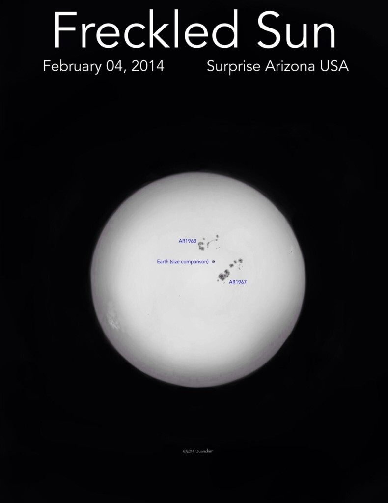 Sun - White Light - February 4, 2014