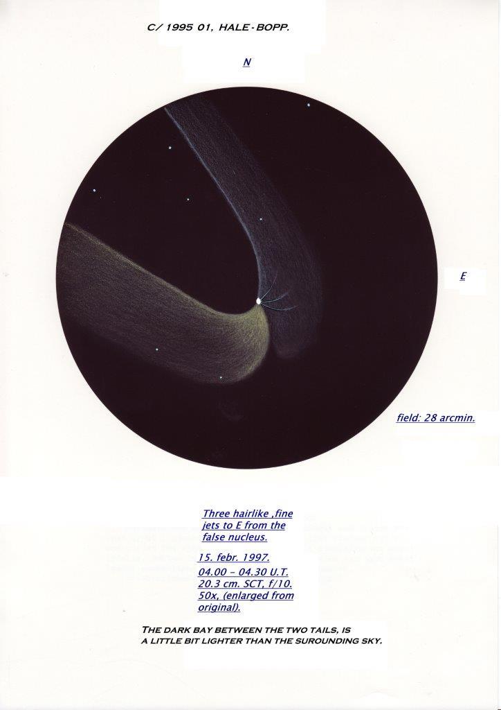C/1995 O1 (Hale-Bopp) - February 15, 1997