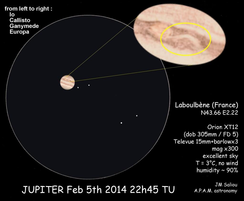 Jupiter - February 5, 2014