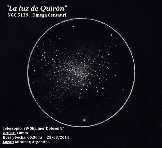 Omega Centuari Globular cluster