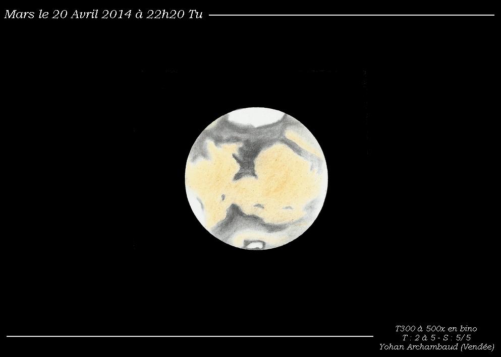 Mars - April 20, 2014