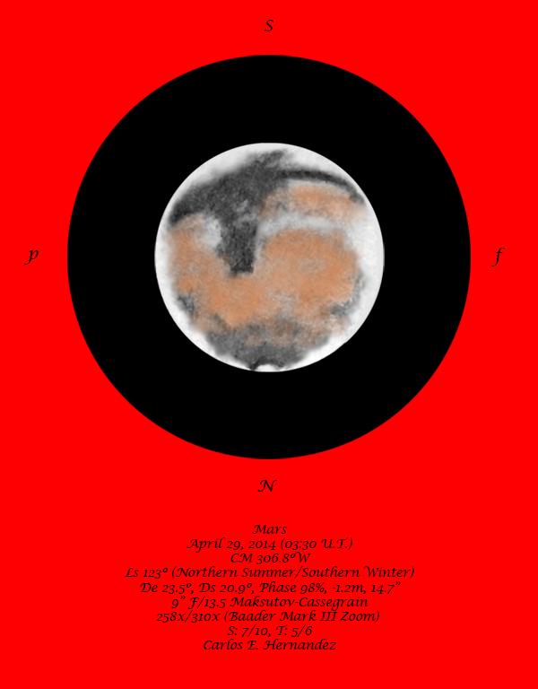 Mars - April 29, 2014