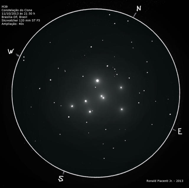 Messier 39, Open Cluster