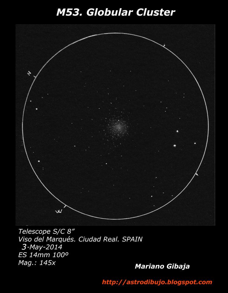 Messier 53 Globular Cluster