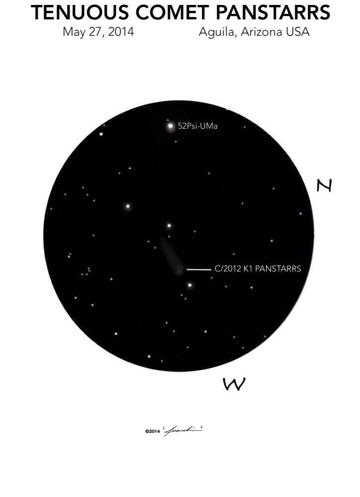 Comet (C/2012 K1 Panstarrs) - May 27, 2014