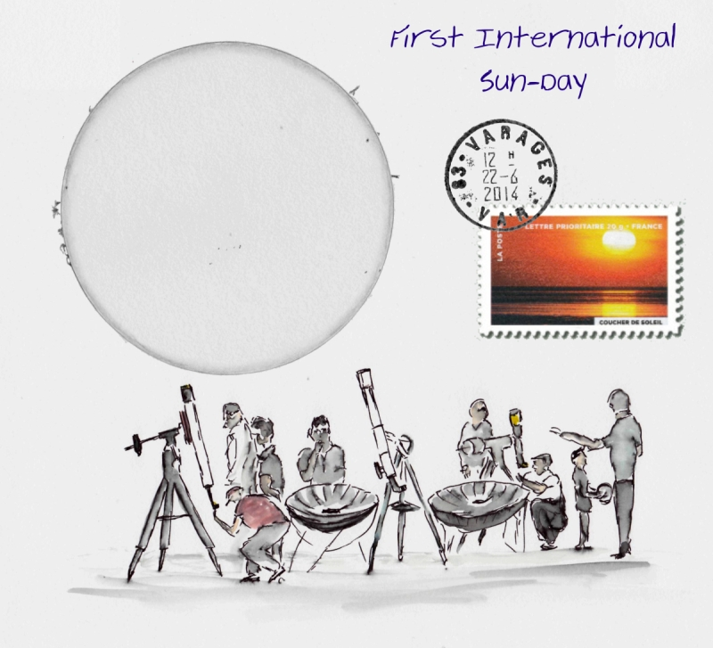 First International Sun-Day on June 22, 2014