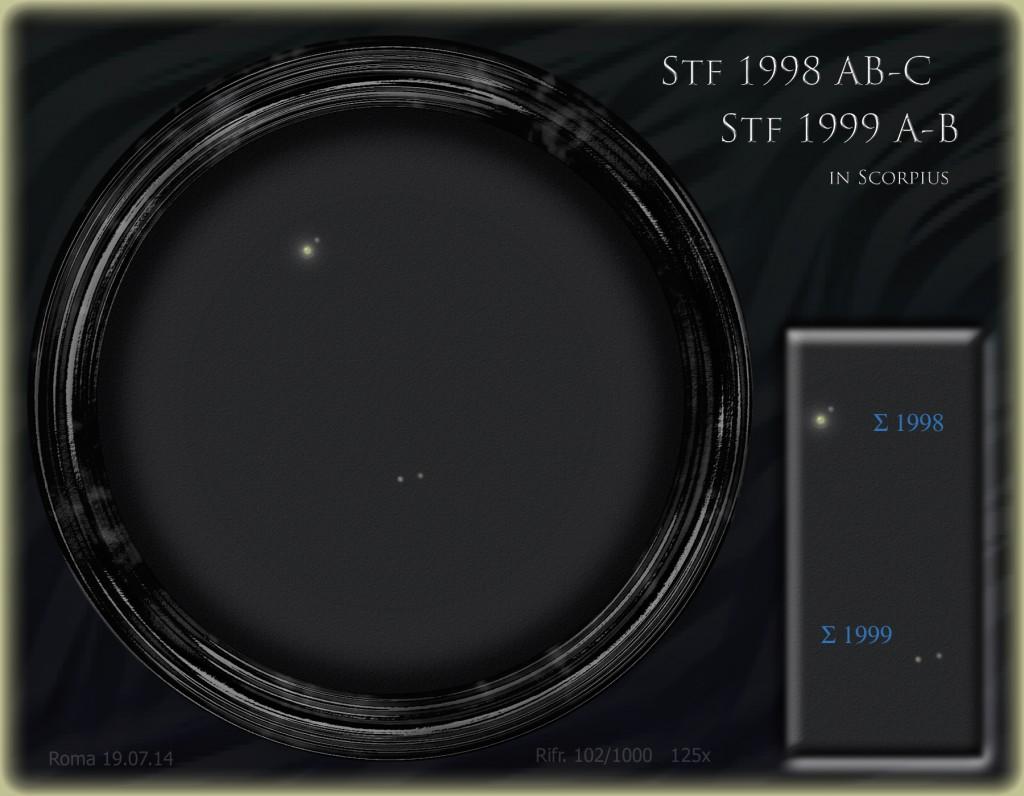 Struve 1998 AB-C and  Struve 1999 A-B