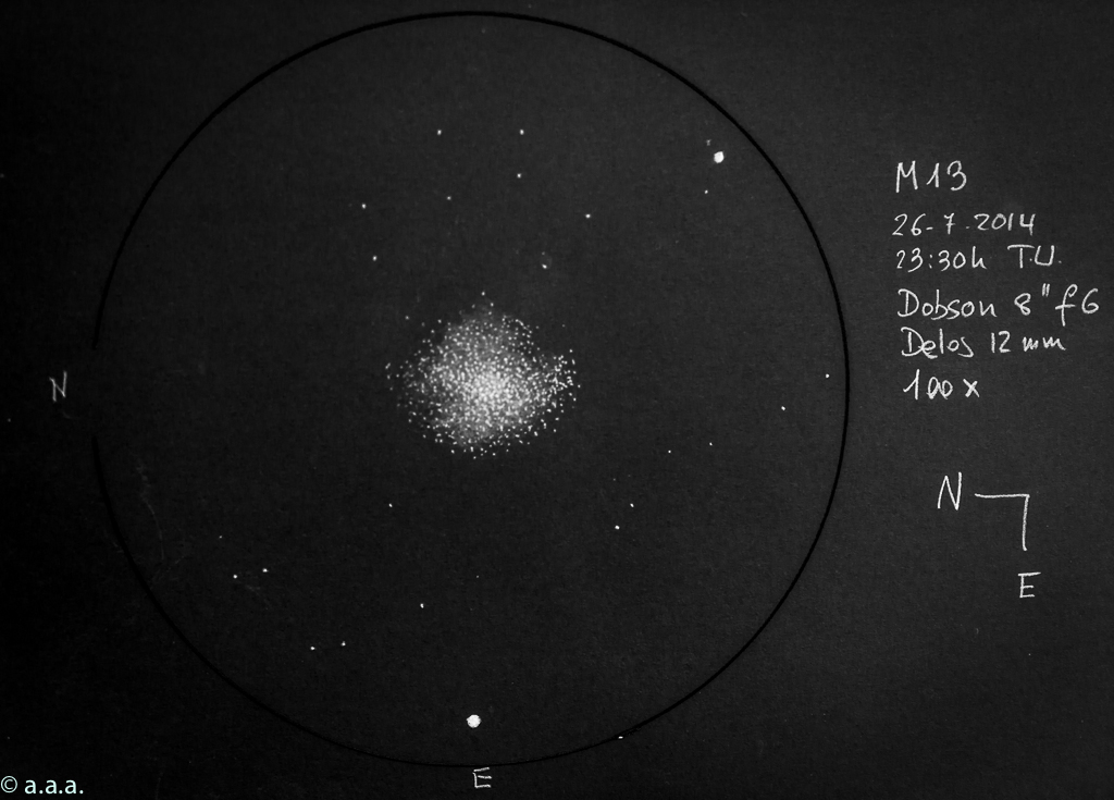 The Great Globular Cluster Messier 13