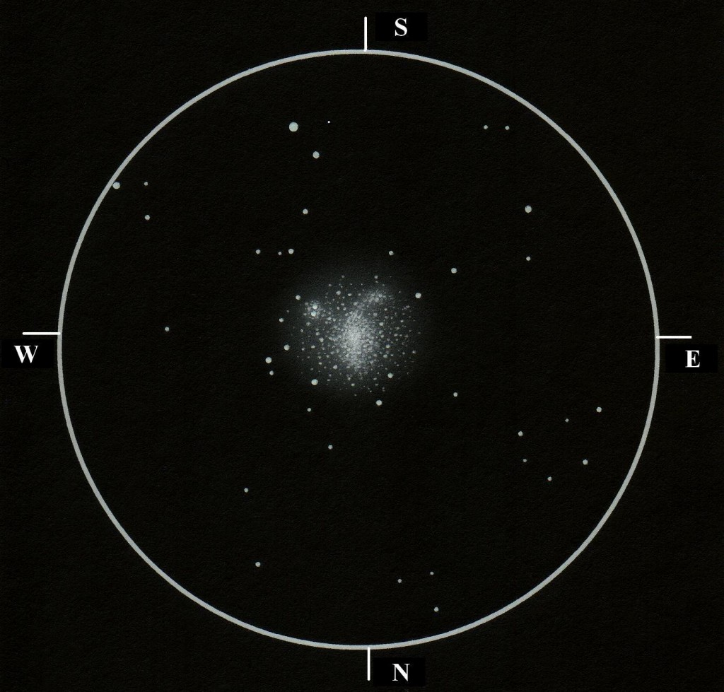 Messier 9, a globular cluster in Ophiuchus