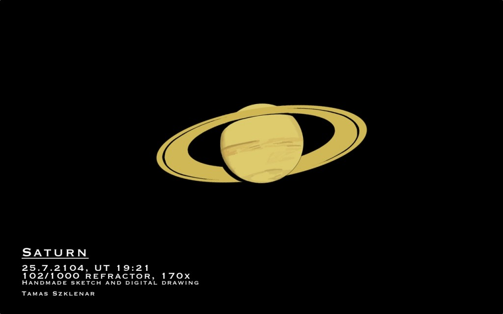 Planet Saturn - July 25, 2014