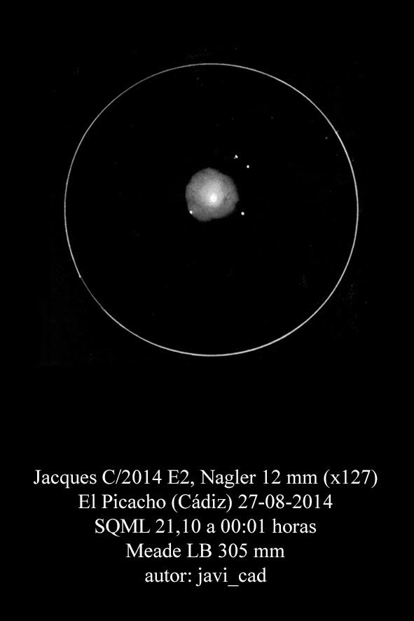Comet Jacques C/2014 E2 - August 27, 2014