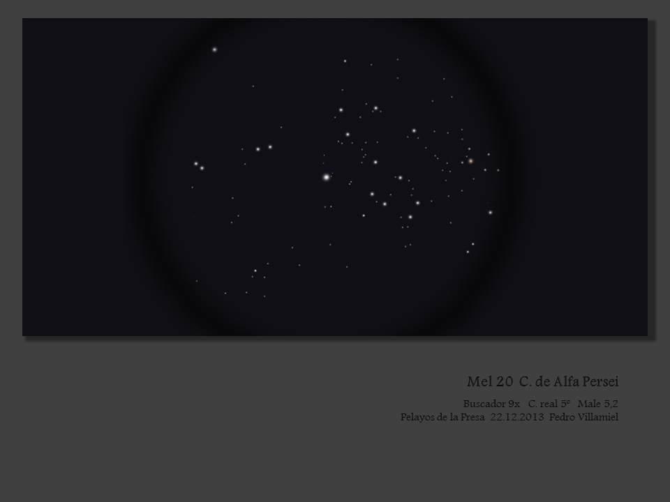 "Mellote 20, Collinder 39 aka ""The Alpha Persei Cluster"""