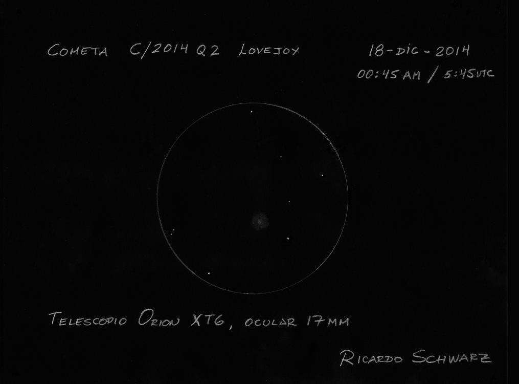 Comet C/2014 Q2 (Lovejoy) - December 18, 2014