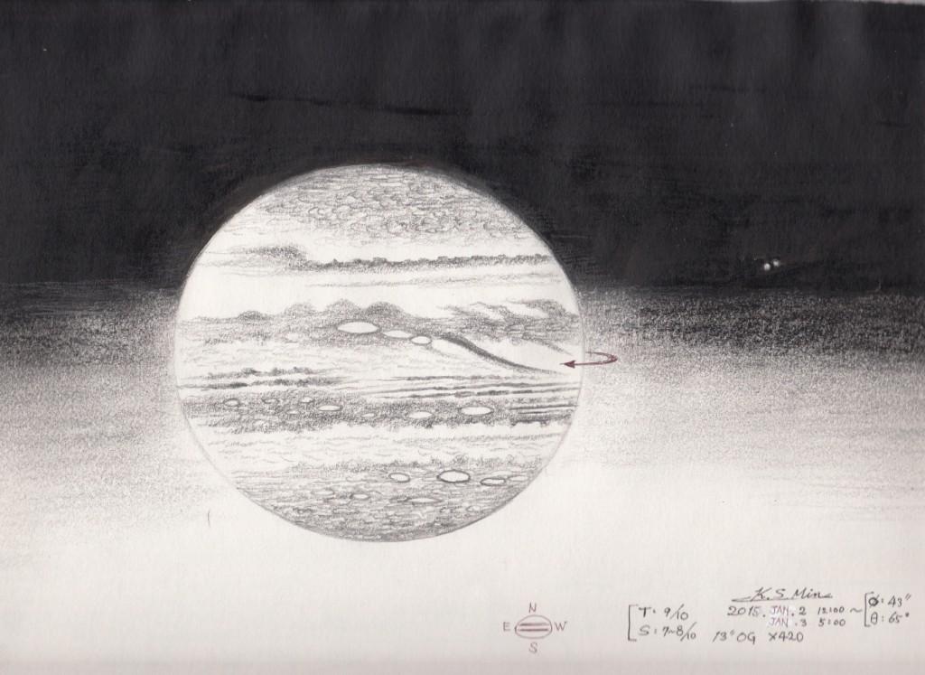 Jupiter - 2-3 January 2015