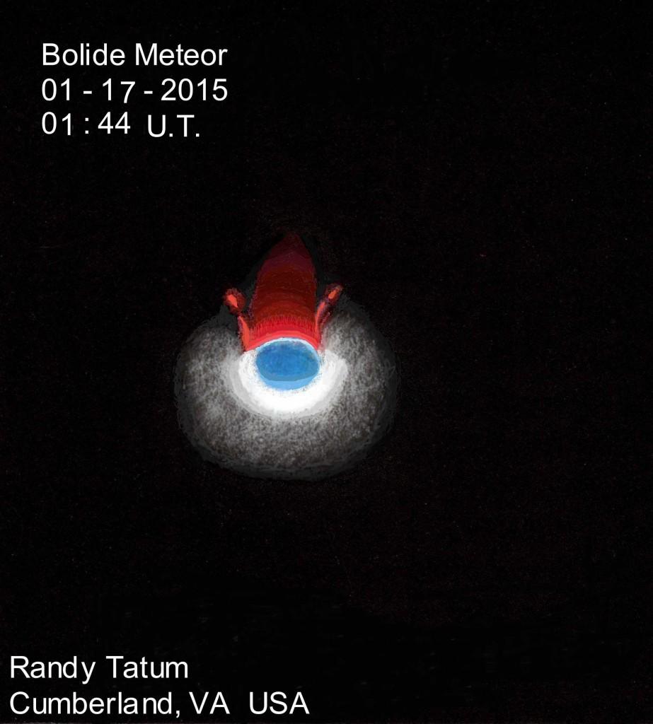 Bolide - 16 January 2015