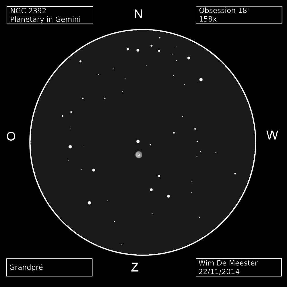 NGC 2392 - Eskimo Nebula