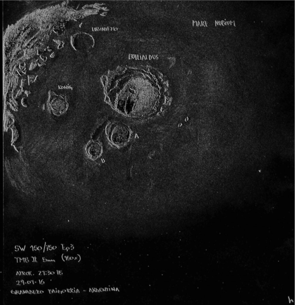Bullialdus Crater - 29 January 2015