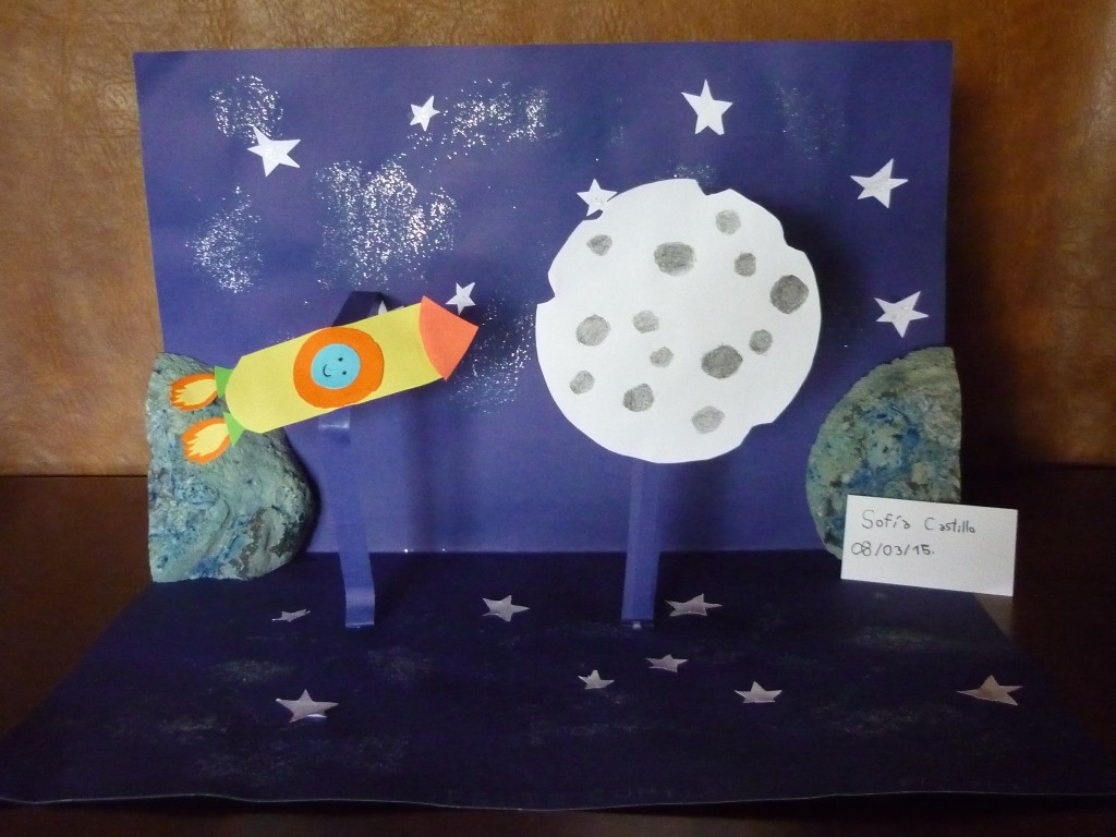 Cohete y Luna para Papa
