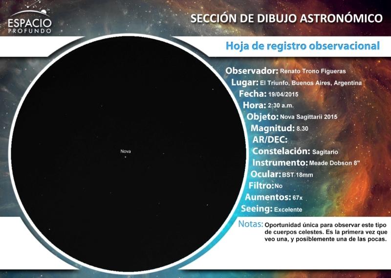 Nova Sagittarii 2015