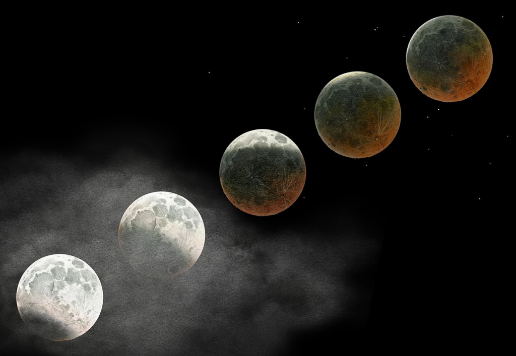 Lunar Eclipse - 4 April 2015