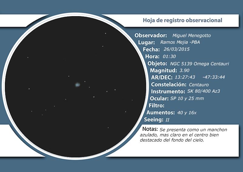 NGC 5139 - Omega Centauri