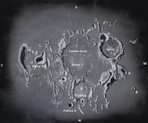 Crater Davy - Labeled